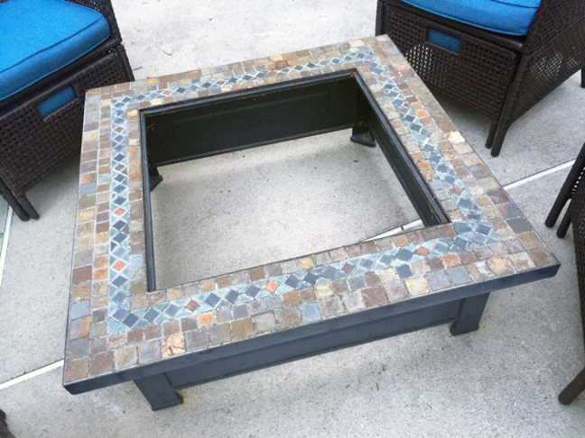 firepit cover_before