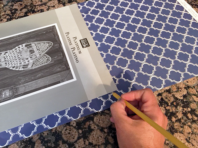 framed initial art_tracing