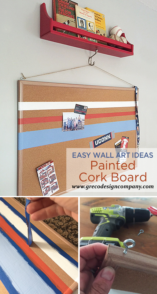 painted cork board_pinterest