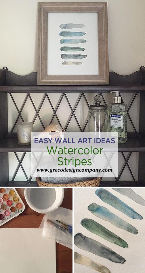 watercolor stripes_pinterest