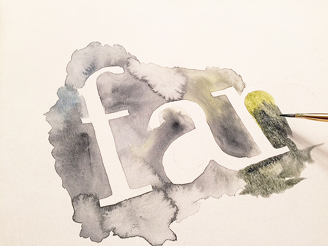 watercolor type_painting 3