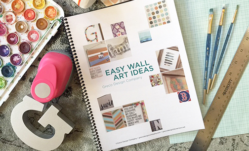 Easy DIY Wall Art Ideas Booklet