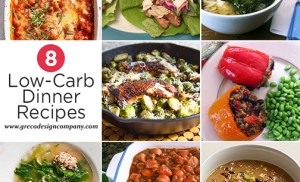 8 Low-carb dinner recipes