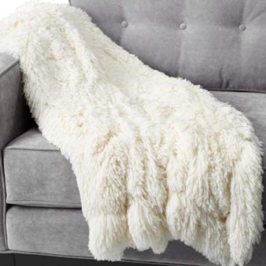 one of my favorite cozy throw blankets for fall from Z Gallerie