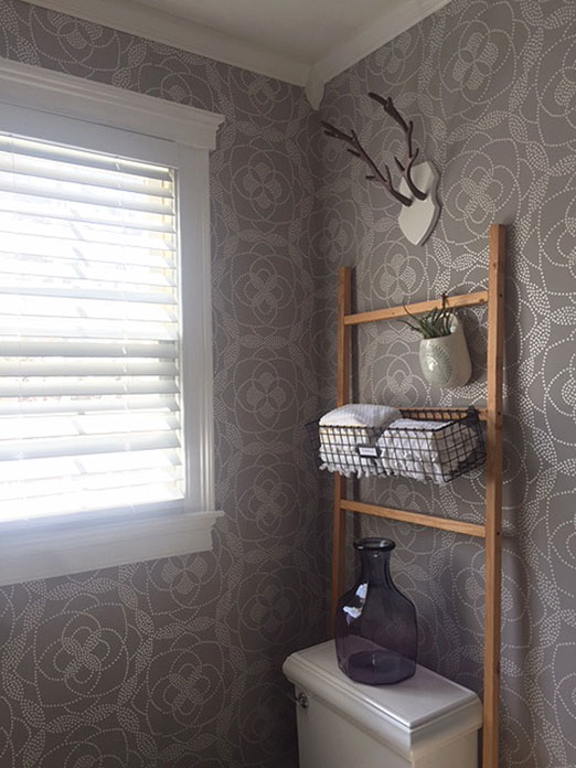 Week 5 of The One Room Challenge - bathroom makeover