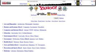 Yahoo nel 1996