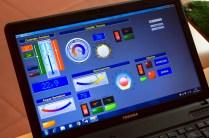 Con un'interfaccia davvero userfriendly è possibile gestire la serra, facile e semplice!