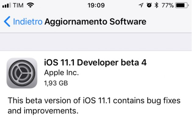 Immagine da http://www.iphoneitalia.com/652063/download-beta-4-ios-11-1