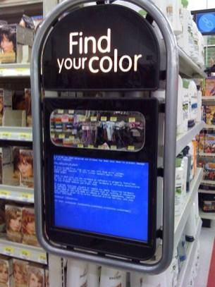 Trova il tuo colore...ed eccolo, il BLUUUUU!