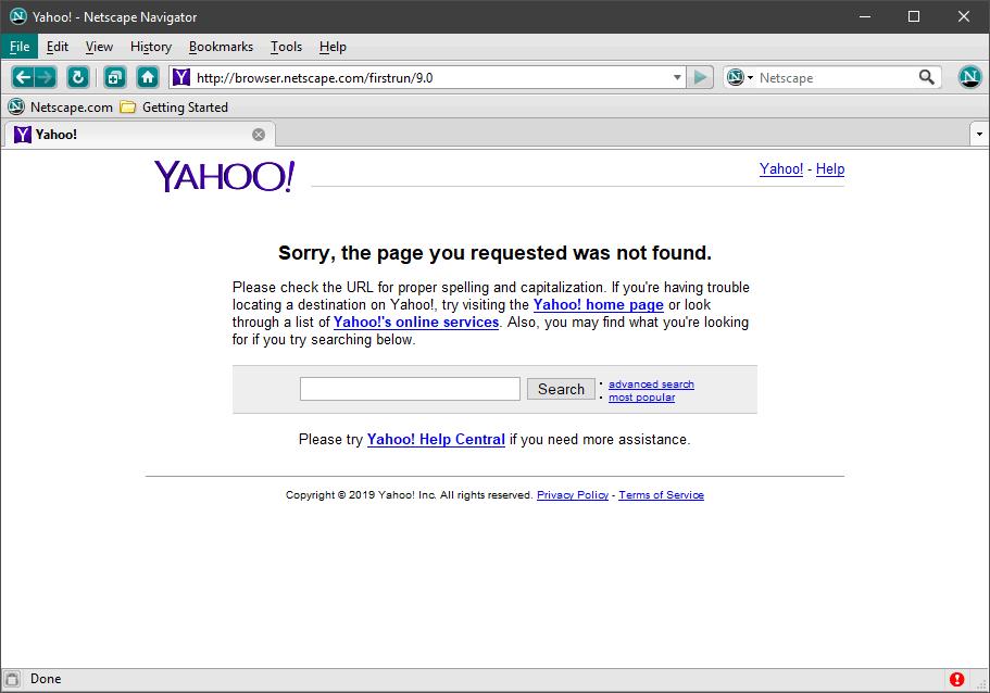 2019 04 26 22 59 25 Yahoo Netscape Navigator | GrecTech