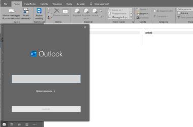 Configurare Microsoft Outlook