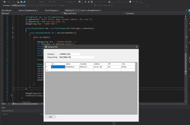 Come collegarsi ad un database MySQL in C#