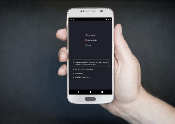 Dark Mode su Android