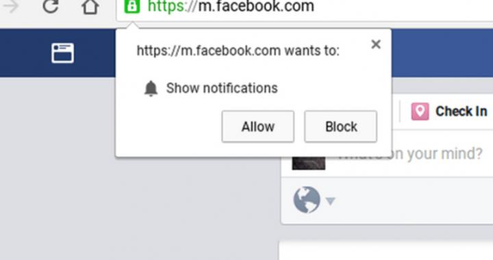 Disattivare le notifiche di Chrome
