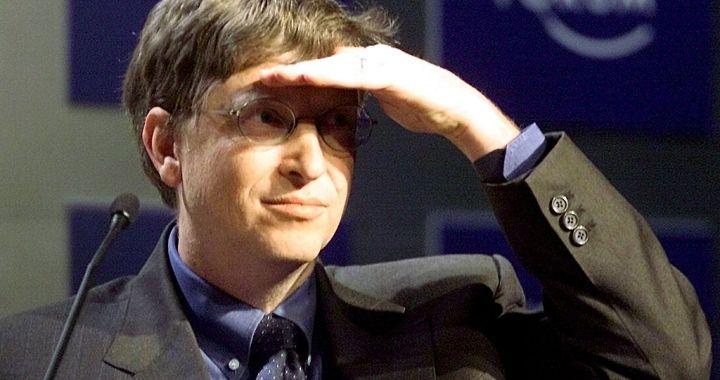 Bill Gates nel 2001