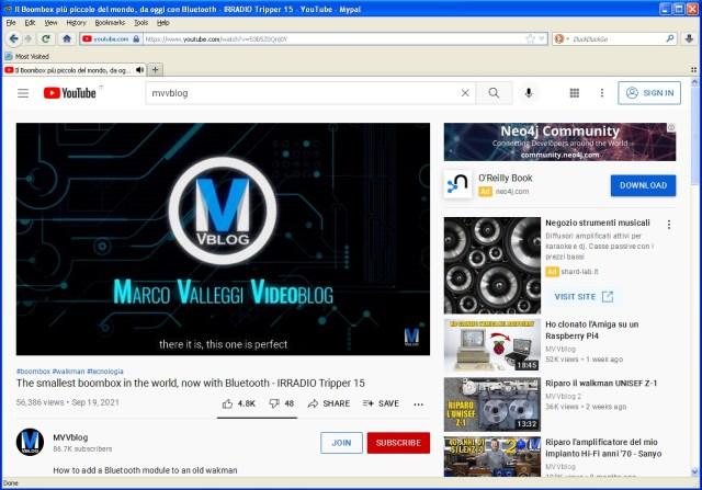 Mypal browser è un ottimo compromesso per navigare in internet su WindowS XP