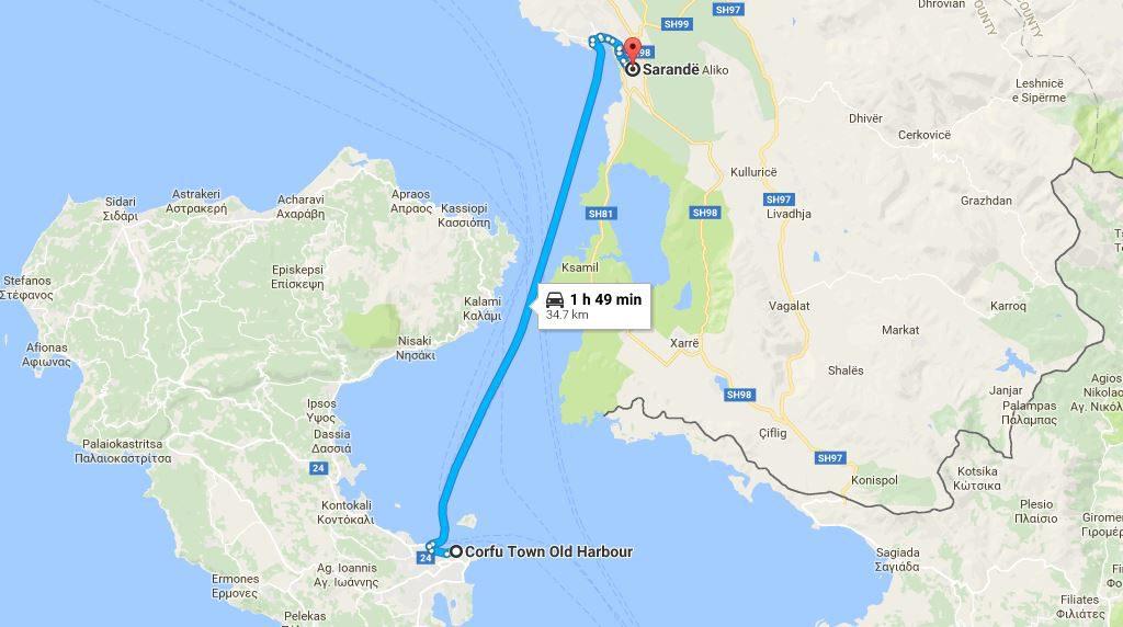 Visiting Albania From Corfu