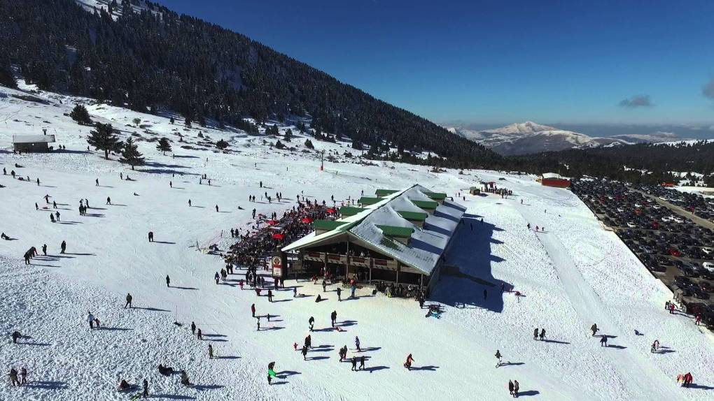 Kalavryta is a major winter destination in Greece
