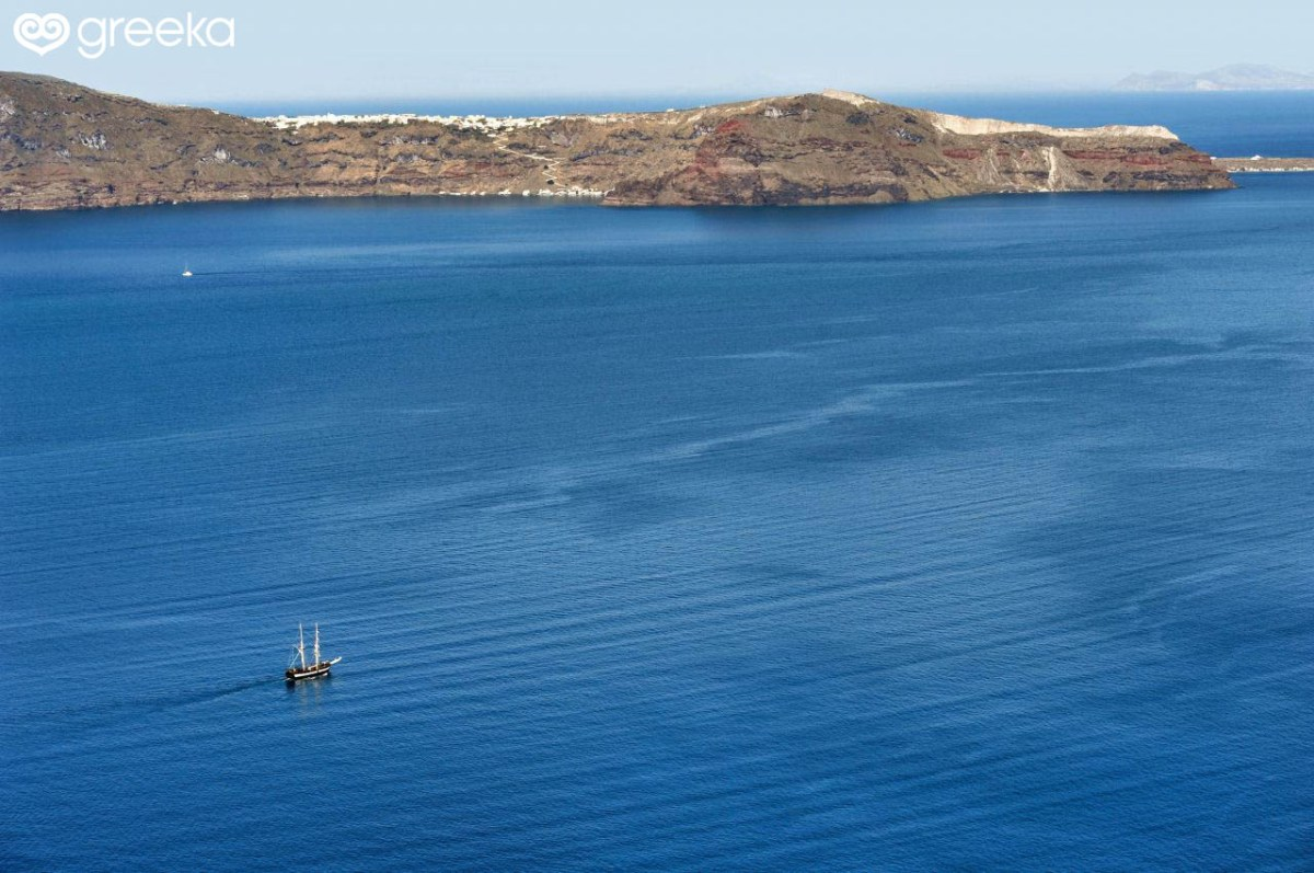 Santorini Atlantis: Panoramic sea view