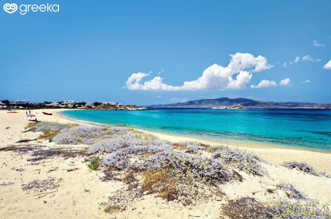 Naxos Mikri Vigla beach - Naxos Beaches | Greeka.com