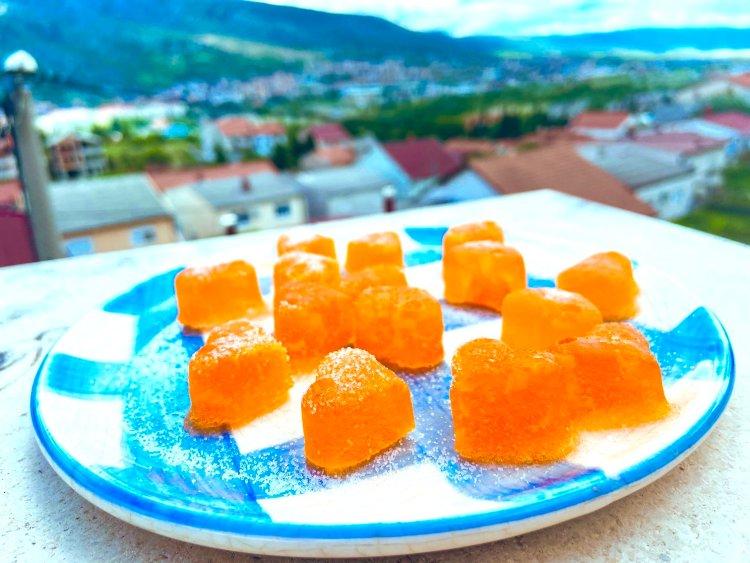 Homemade vitamin jellies