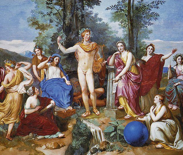 Muse Greek Mythology