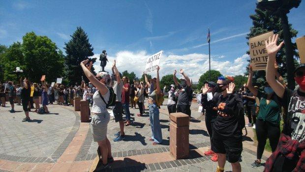George Floyd protest Denver