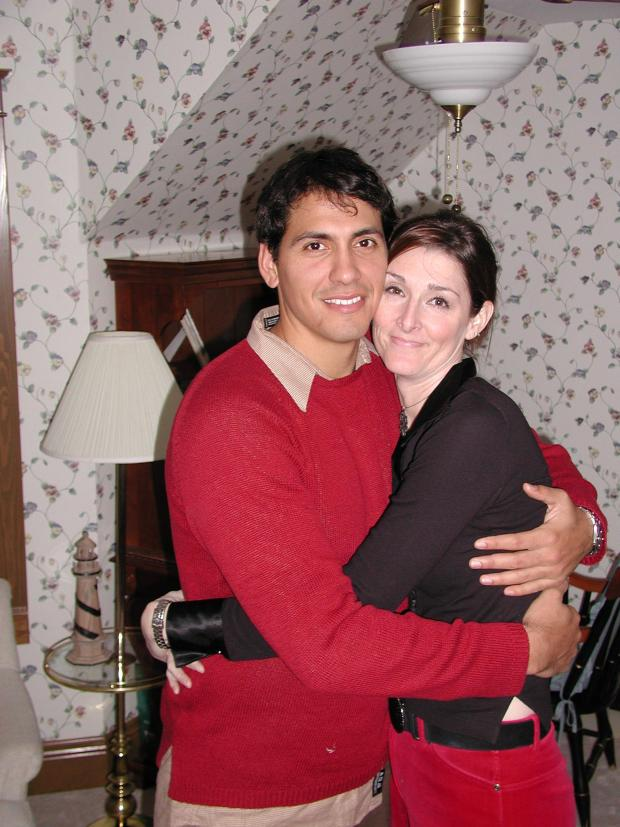 Allison Jones and Rey Rivera