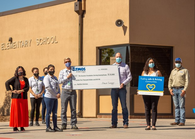 Atmos Energy donation to The Success Foundation