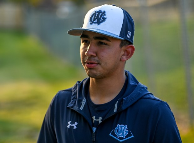 GREELEY, CO - OCTOBER 15:Ruben Araujo speaks with the Greeley Tribune before practice at the Dayspring Christian Academy baseball field in Greeley Oct. 15, 2020. (Alex McIntyre/Staff Photographer)