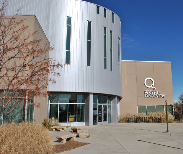 The Fort Collins Discovery Museum offers a variety of exhibits inspired by history and science. (Tamara Markard/Greeley Tribune)