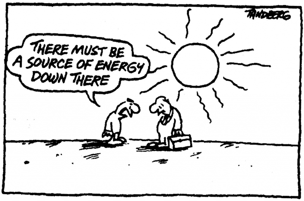 cartoon on solar energy