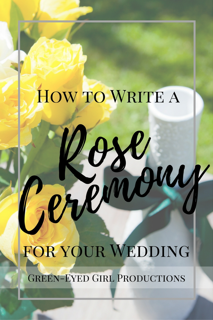 How to Write a Rose Ceremony for your Wedding | Unity Celebration