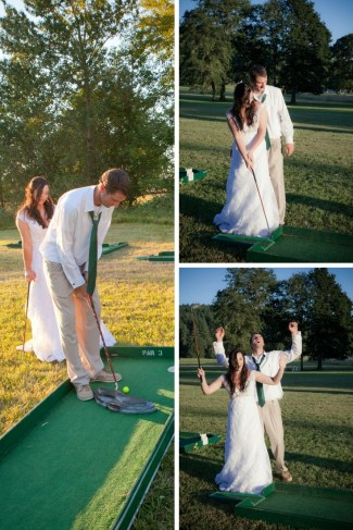 Wedding Lawn Games. Wedding Game Ideas. Fun Wedding Games. Renting a Miniature Golf Course for your Wedding. Mini Golf Wedding Rentals. Unique Wedding Reception Ideas. Golf Themed Party. Mini Golf Rentals. Mini Golf Wedding. Wedding Mini Golf. Wedding Miniature Golf.