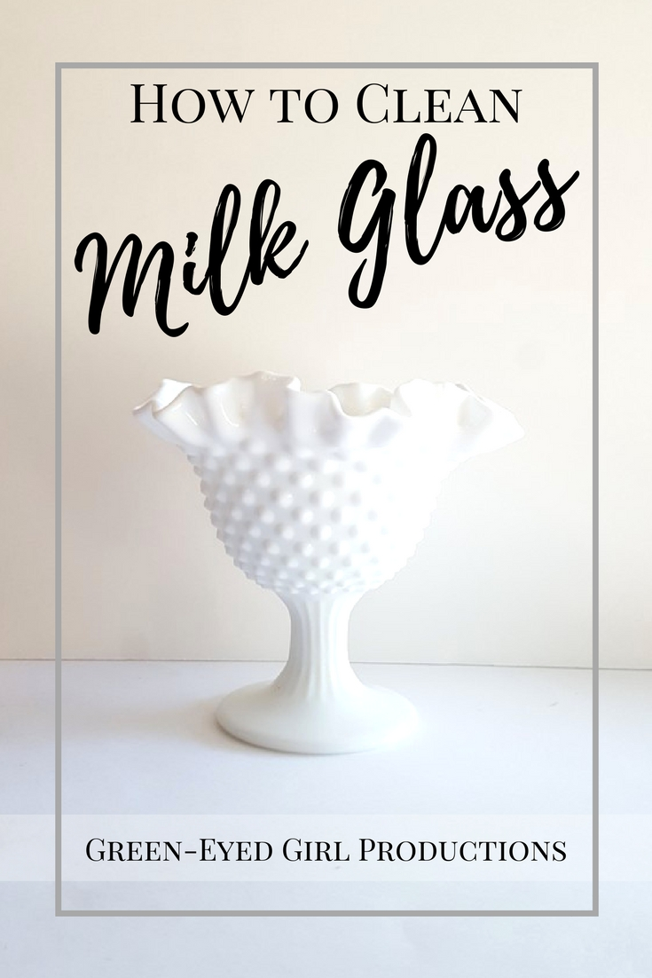 How To Clean Milk Glass Vases