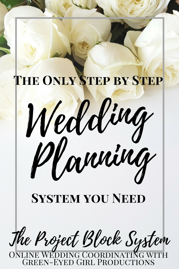 The Project Block System | A Complete Wedding Planning Project List