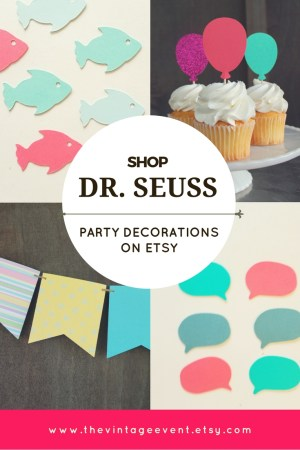 Shop Dr. Seuss Decorations on Etsy. Oh the Places You'll Go Graduation Party Theme.