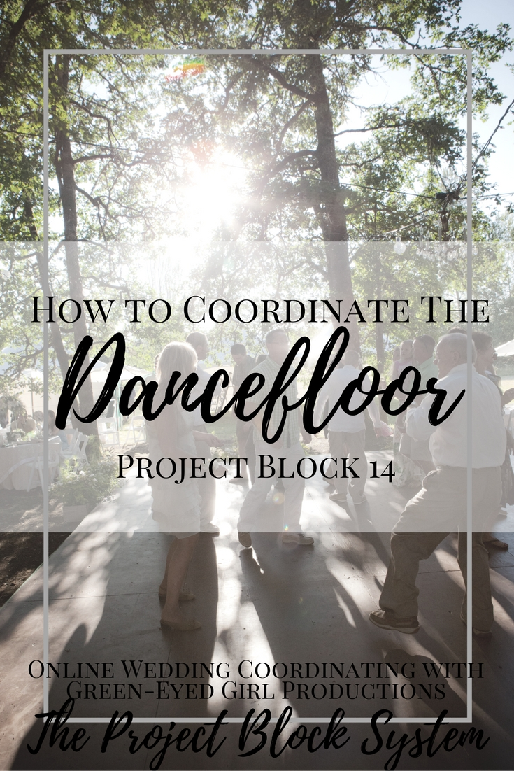 How to Coordinate your Dance Floor | Project Block 14