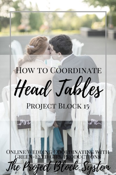 How to COordinate your Head Table. Wedding Planning. Where do the Bride and Groom Sit. Wedding Coordinating