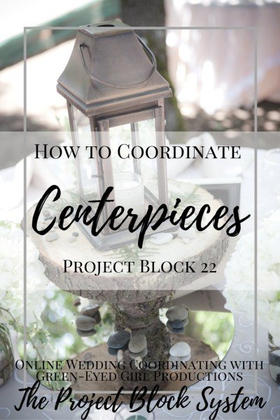 How To Coordinate Wedding Centerpieces With A Checklist Project