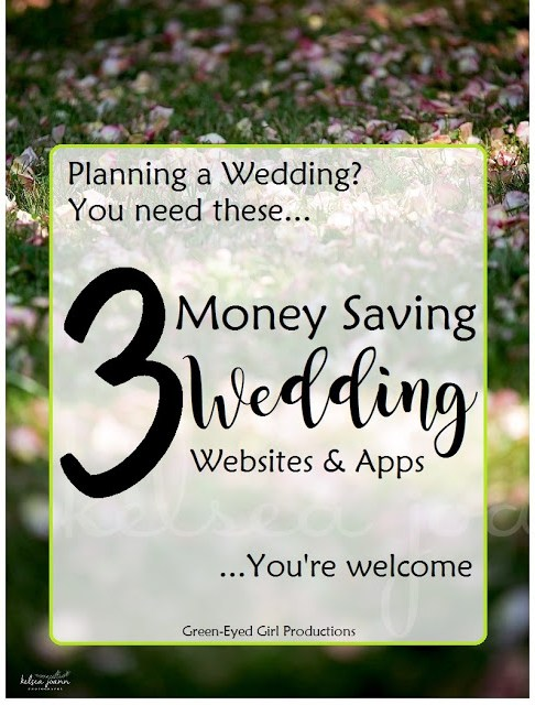 3 Ways to save money planning your wedding and making money back AFTER from Green-Eyed Girl Productions How to Save Money Planning a Wedding Online