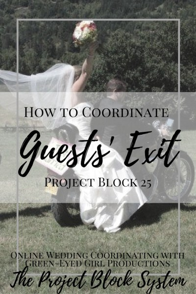 How to Coordinate Wedding Guest Exiting. How do Guests leave a wedding. Wedding Exit. End of Wedding Planning. Planning your Wedding Night. End of the Party. Wedding Planning Guide. How to. Advice