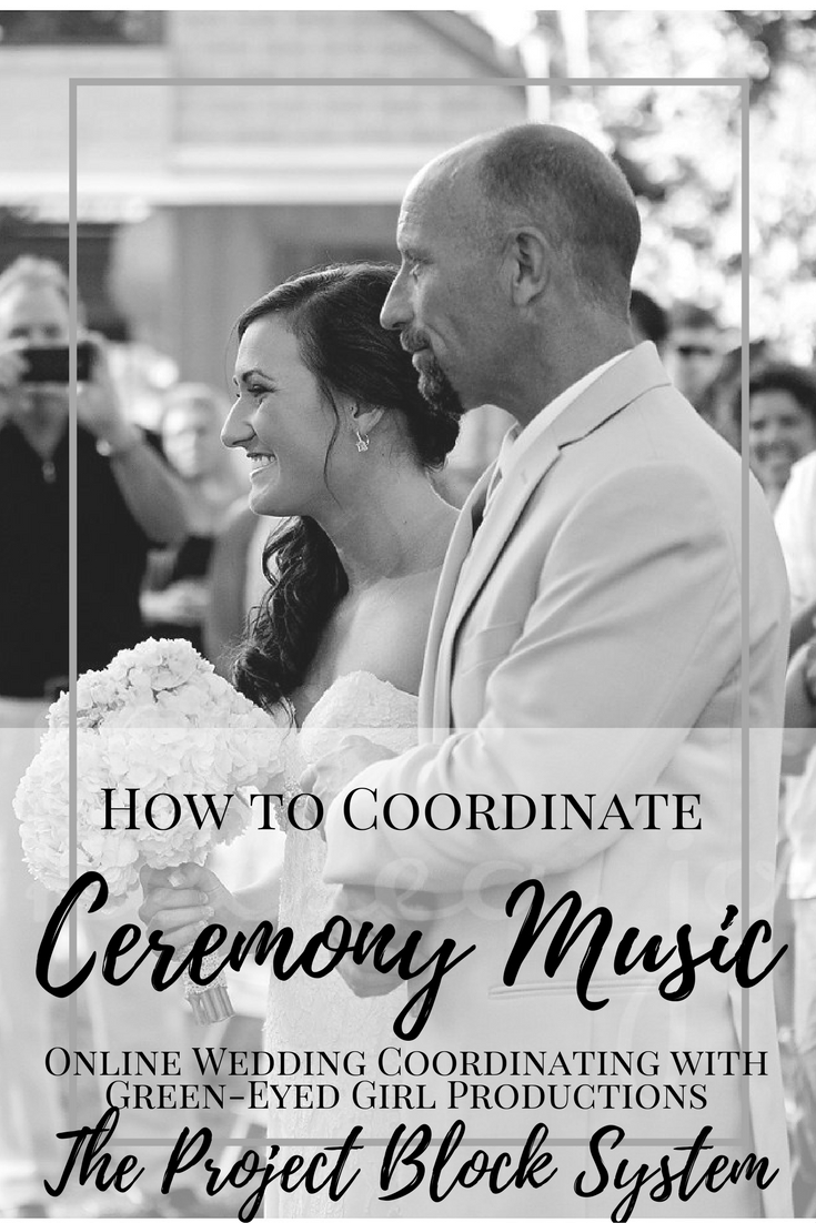 How to Coordinate Wedding Ceremony Music | Project Block 4D