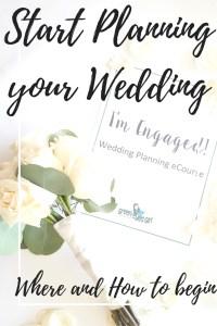 Start Planning your Wedding with the I'm Engaged ECourse. Free 2 Week Wedding Planning Online Class. Where to Start Planning a Wedding. Plan your own Wedding