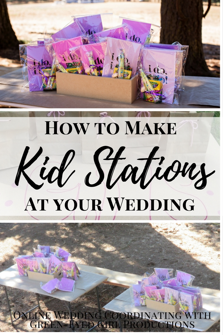 How to Make Kid Stations at your Wedding