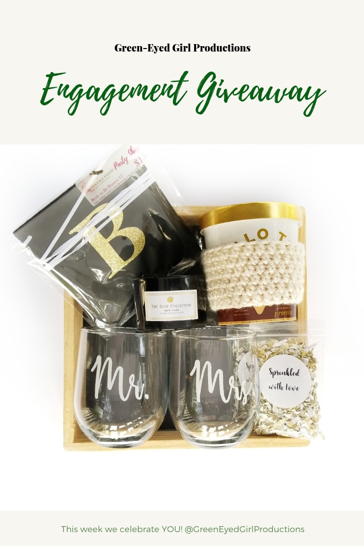 Wine Tumblers | Engagement Giveaway