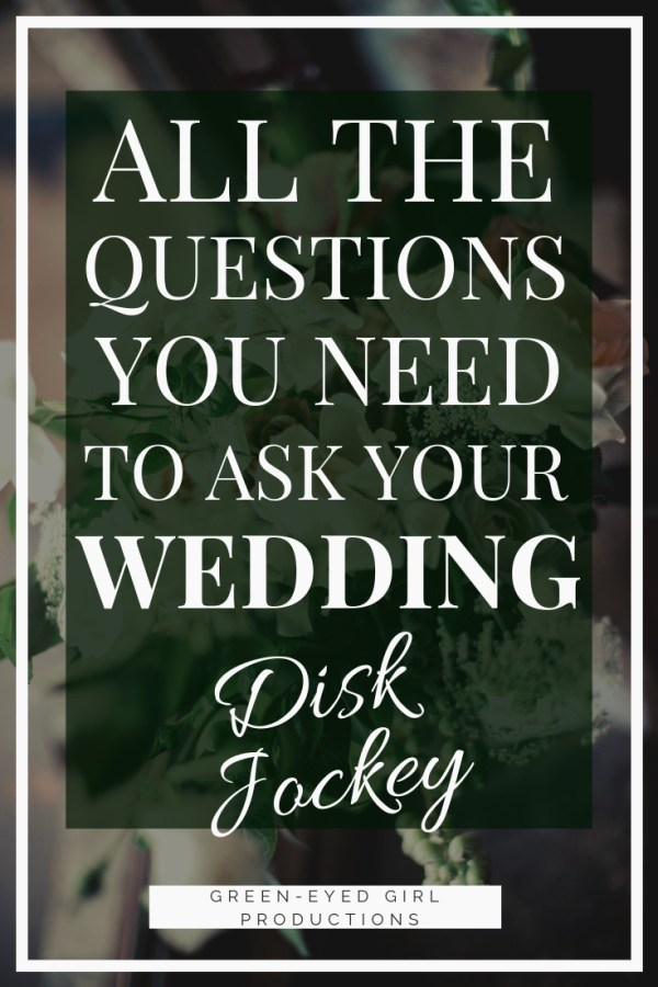 It's time to hire a Wedding DJ! Soon you'll be setting up interviews. But what are the important questions to ask your Wedding DJ IN the interview? In this Printable Wedding Worksheet, you'll have all the questions to ask your Wedding DJ during an interview. Your Wedding Planning just got easier with these convenient Wedding Planner Binder Printable.