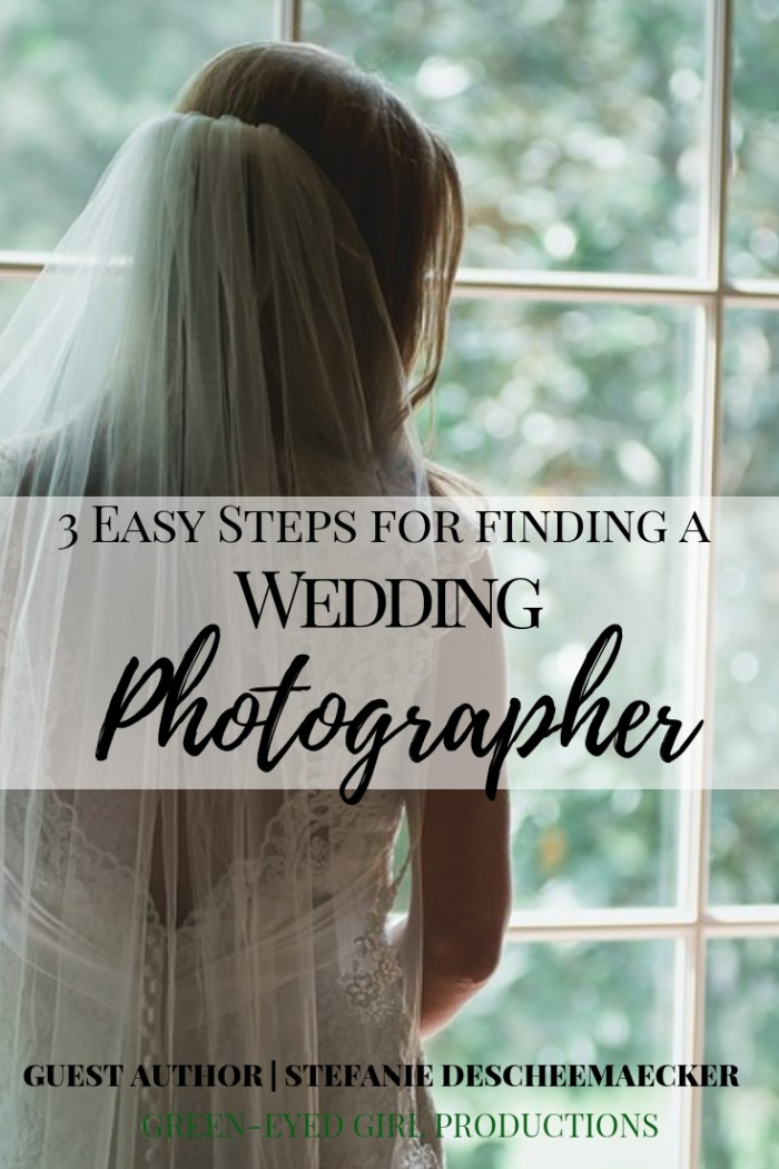 Find a Wedding Photographer in 3 Easy Steps. If you're planning a Wedding and looking to hire a Professional Wedding Photographer you'll want to read this. We're breaking down Questions to Ask a Wedding Photographer, Decisions to make before hiring and setting up Wedding Vendor Interviews.