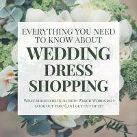 How to Start Wedding Dress Shopping
