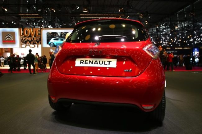 Renault Zoe / Źródło: Newspress
